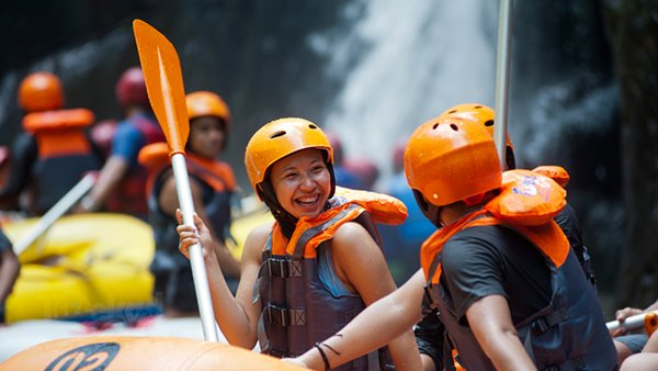 Ayung River Rafting Red Paddle 2