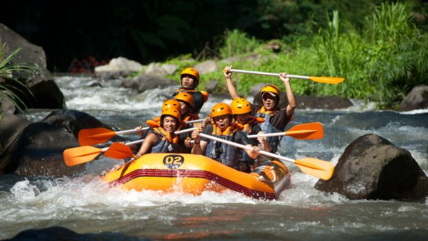 Ayung River Rafting Red Paddle 5