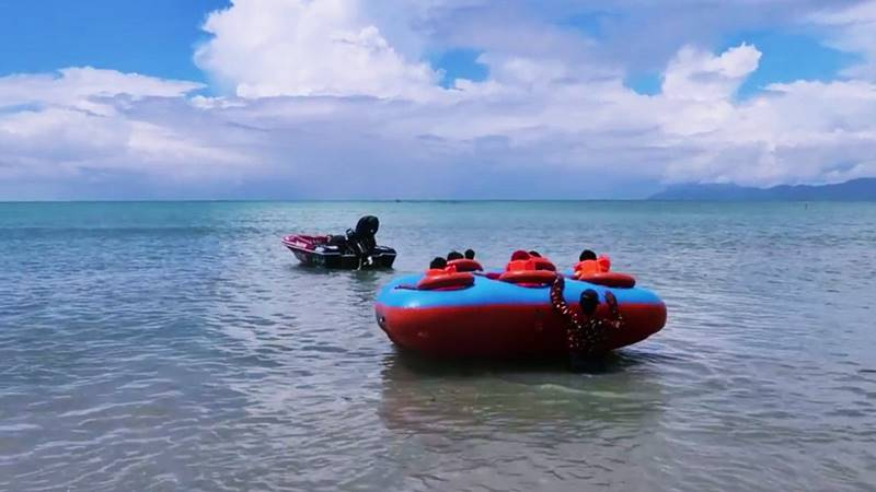 New Water Sport, Rolling Donut in Tanjung Benoa 2