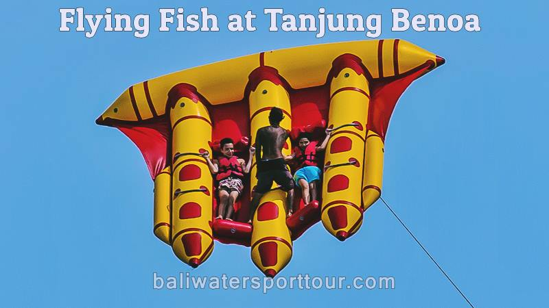 Feel Your Adrenaline Rise with Flying Fish in Tanjung Benoa Bali 1