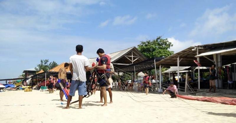 Single Bali Parasailing 3